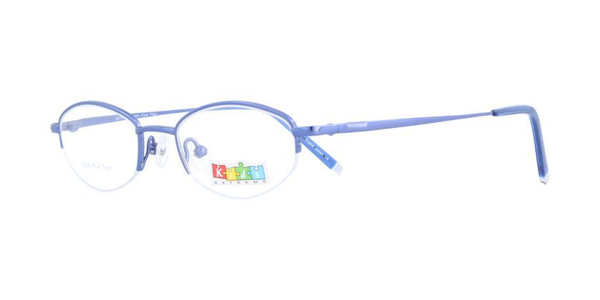 Kids Extreme EX460KW118 Eyeglasses - 45 Degree View