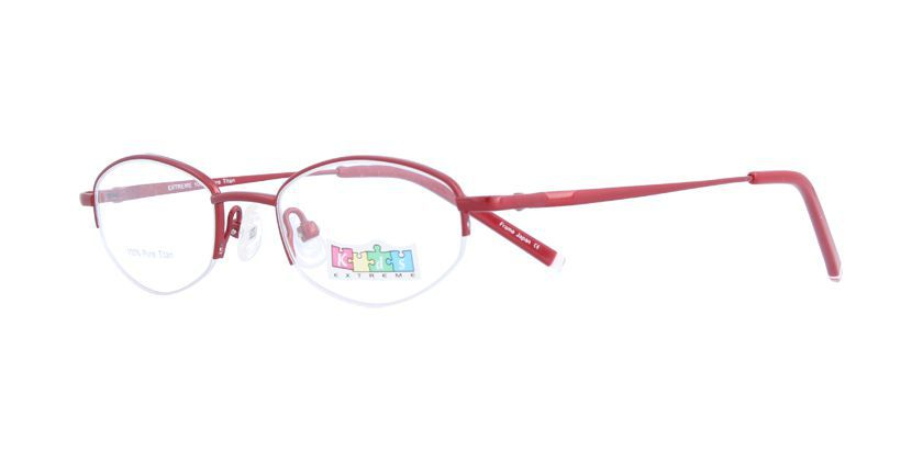 Kids Extreme EX460KW166 Eyeglasses - 45 Degree View