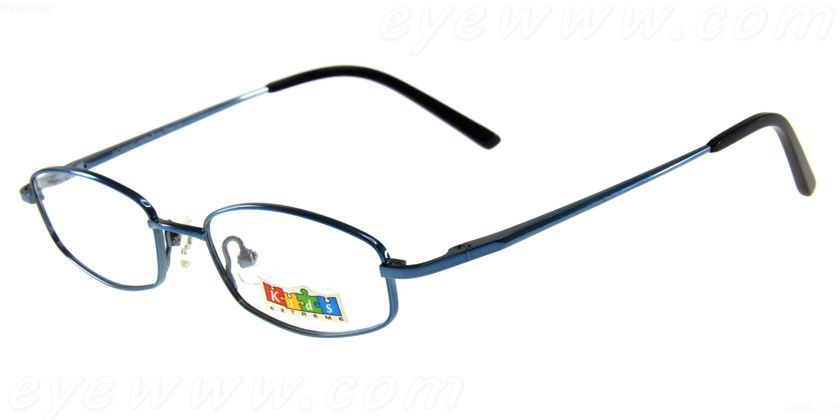 Kids Extreme EX550KBL Eyeglasses - 45 Degree View