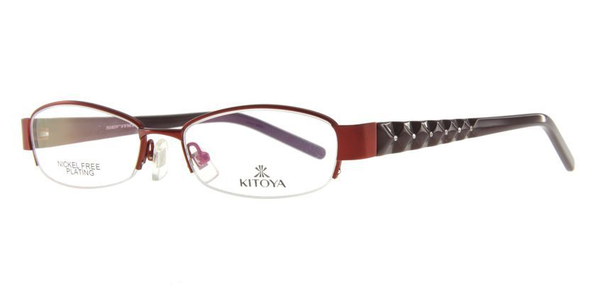 Kitoya K306005 Eyeglasses - 45 Degree View