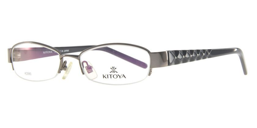Kitoya K306012 Eyeglasses - 45 Degree View