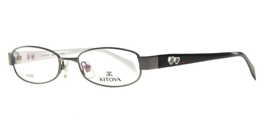 Kitoya K3062C12 Eyeglasses - 45 Degree View