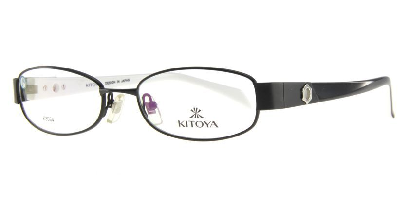 Kitoya K308401 Eyeglasses - 45 Degree View