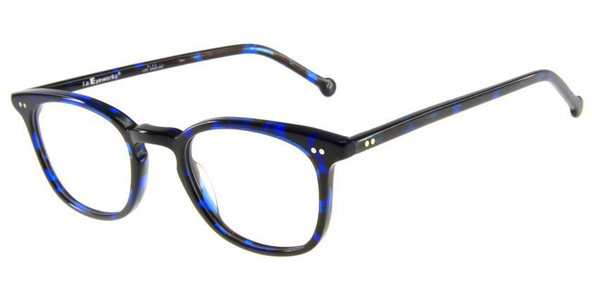 LA Eyeworks LEGOWER352 Eyeglasses - 45 Degree View