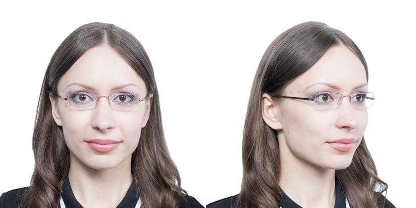Lindberg 3011P75 Eyeglasses - Try On View