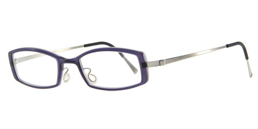 Lindberg ACETANIUM1010AE48 Eyeglasses - 45 Degree View