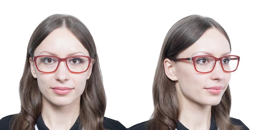 Lindberg ACETANIUM1029AE67 Eyeglasses - Try On View
