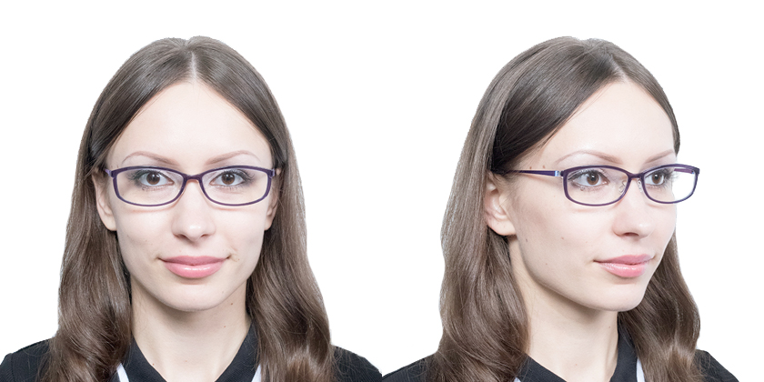 Lindberg ACETANIUM1161AG36 Eyeglasses - Try On View
