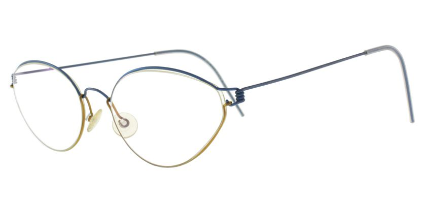 Lindberg AIR80 Eyeglasses - 45 Degree View