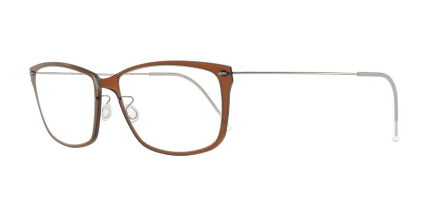 Lindberg NOW6504C02P10 Eyeglasses - 45 Degree View
