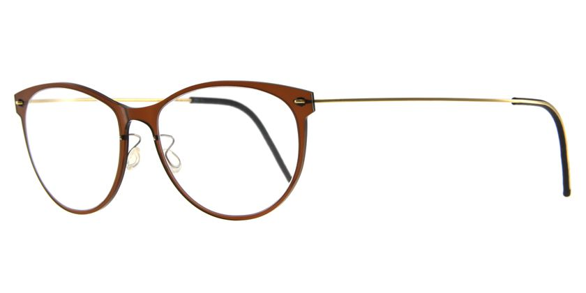 Lindberg NOW6520C02PGT Eyeglasses - 45 Degree View