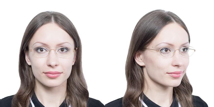 Lindberg RIMATLA60 Eyeglasses - Try On View