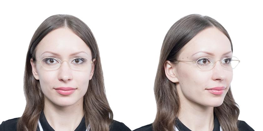 Lindberg RIMATLAGT Eyeglasses - Try On View