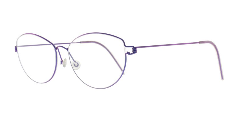 Lindberg RIMCHRISTINA77 Eyeglasses - 45 Degree View