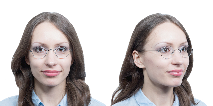 Lindberg RIMCORONAU9 Eyeglasses - Try On View