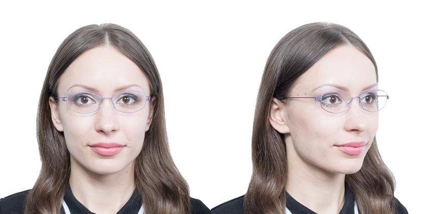 Lindberg RIMMARIA77 Eyeglasses - Try On View