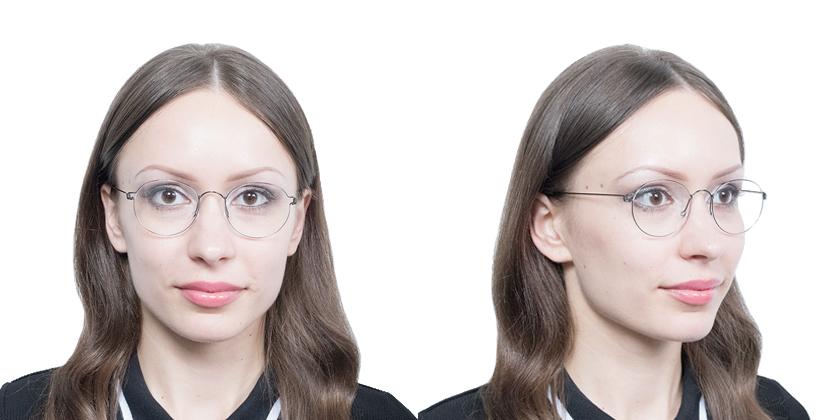 Lindberg RIMMORTENPU9 Eyeglasses - Try On View
