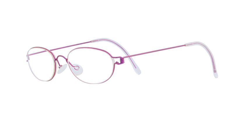 Lindberg RIMORION25 Eyeglasses - 45 Degree View