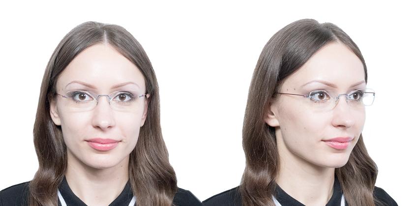 Lindberg SPIRIT14575 Eyeglasses - Try On View