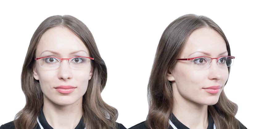 Lindberg STRIP7200U33 Eyeglasses - Try On View