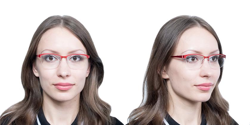 Lindberg STRIP7380U22 Eyeglasses - Try On View