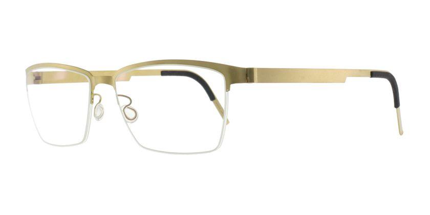Lindberg STRIP7407GT Eyeglasses - 45 Degree View