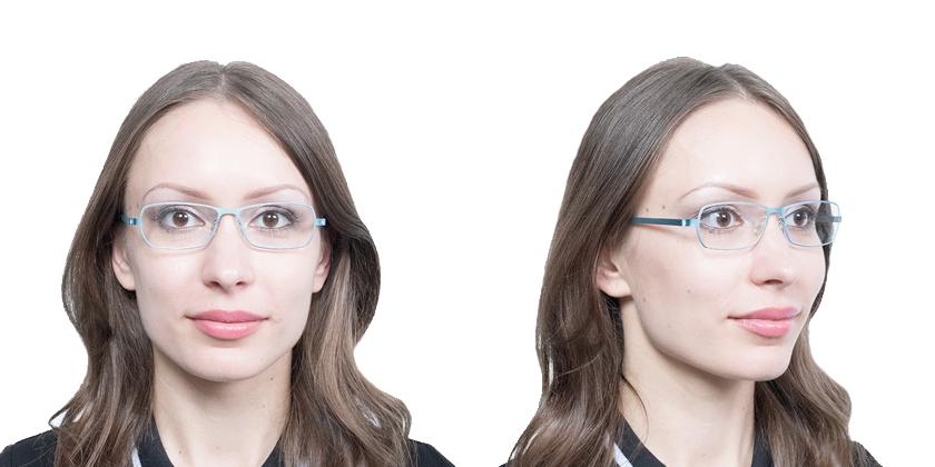 Lindberg STRIP950825 Eyeglasses - Try On View
