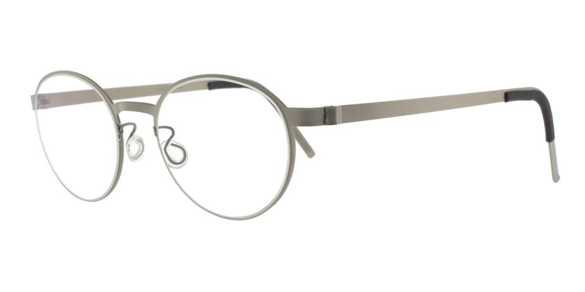 Lindberg STRIP955310 Eyeglasses - 45 Degree View