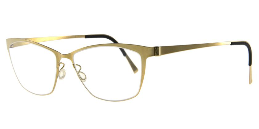 Lindberg STRIP9554PGT Eyeglasses - 45 Degree View