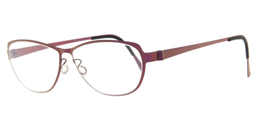 Lindberg STRIP9557113 Eyeglasses - 45 Degree View