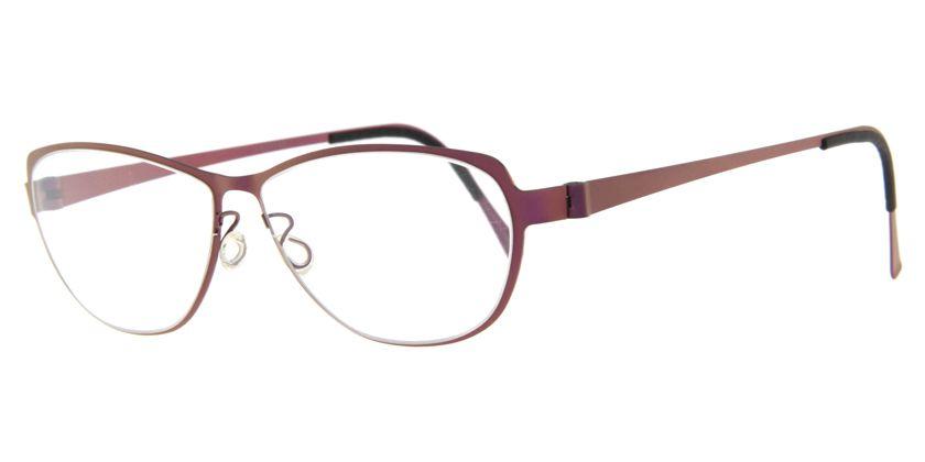 Lindberg STRIP9557113 Eyeglasses - 45 Degree View