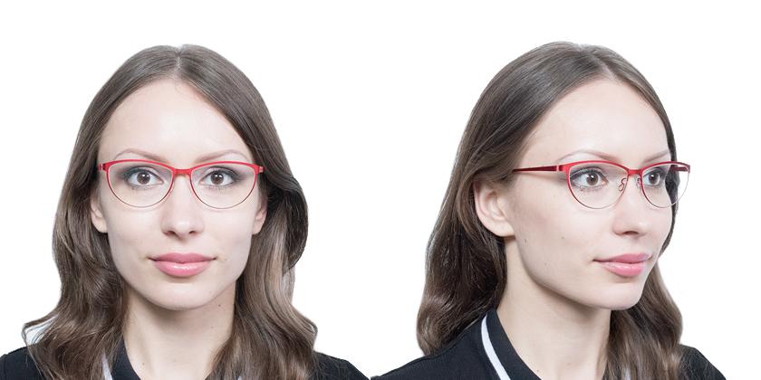 Lindberg STRIP9575U33 Eyeglasses - Try On View