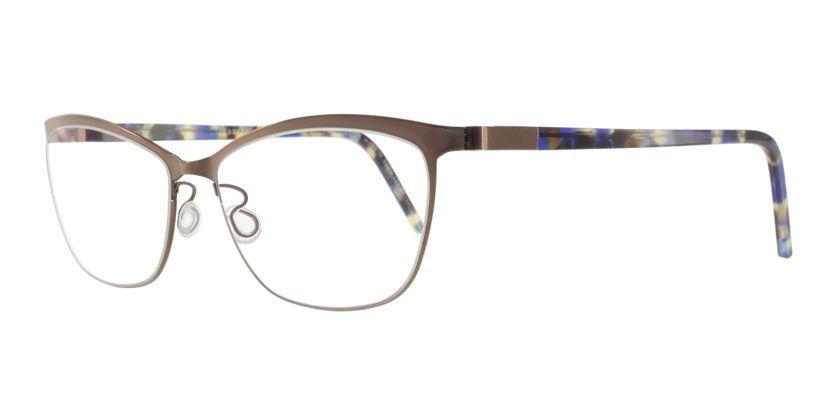 Lindberg STRIP9584K173PU12 Eyeglasses - 45 Degree View