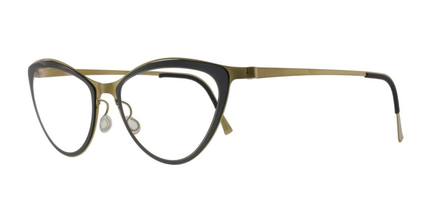 Lindberg STRIP9710GT Eyeglasses - 45 Degree View