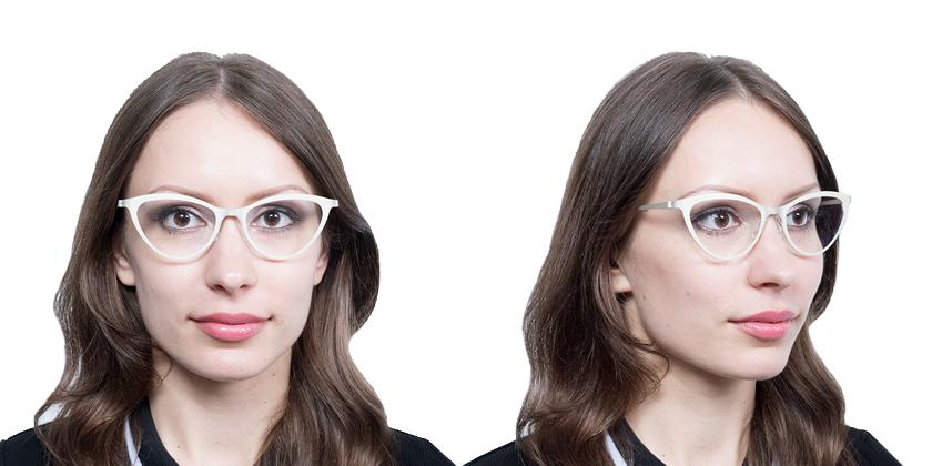 Lindberg STRIP9710U38 Eyeglasses - Try On View
