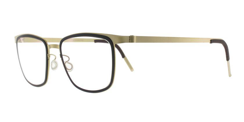 Lindberg STRIP9717GT Eyeglasses - 45 Degree View