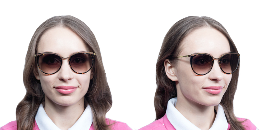 Lindberg SUN8601P60 Sunglasses - Try On View