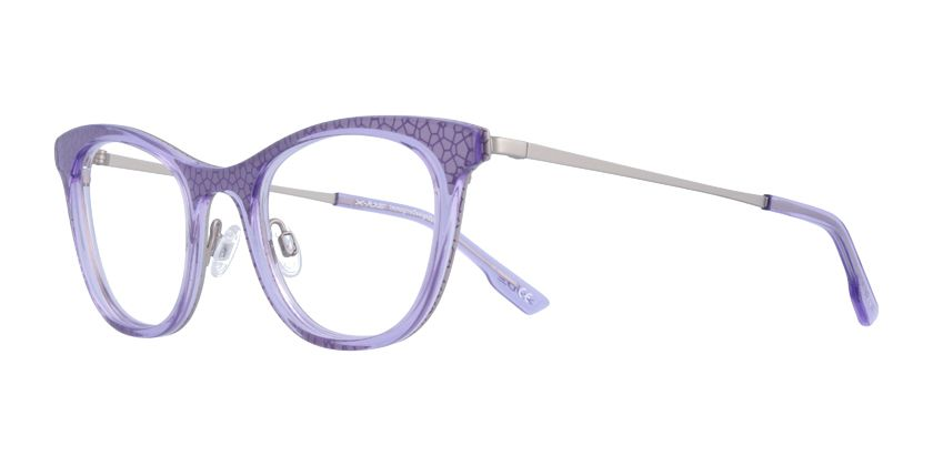 X-iDE AZALEAC3 Eyeglasses - 45 Degree View